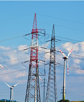 Energy towers image